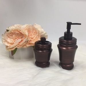 Other - Soap Dispenser and Toothbrush Holder